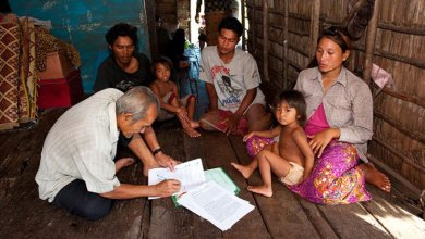 Photo of Cash relief program in Cambodia starts today