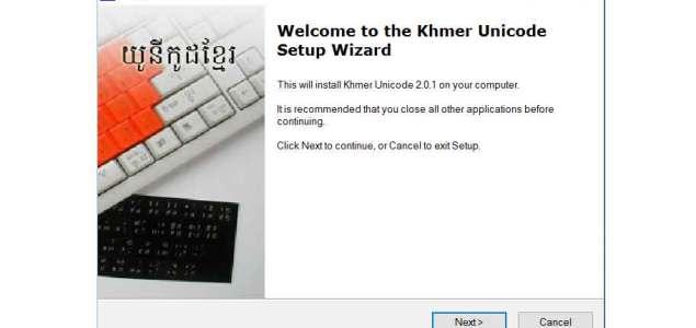 Download Khmer Unicode