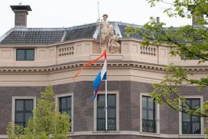 Prins van Oranje houdt Haarlemse Voordracht