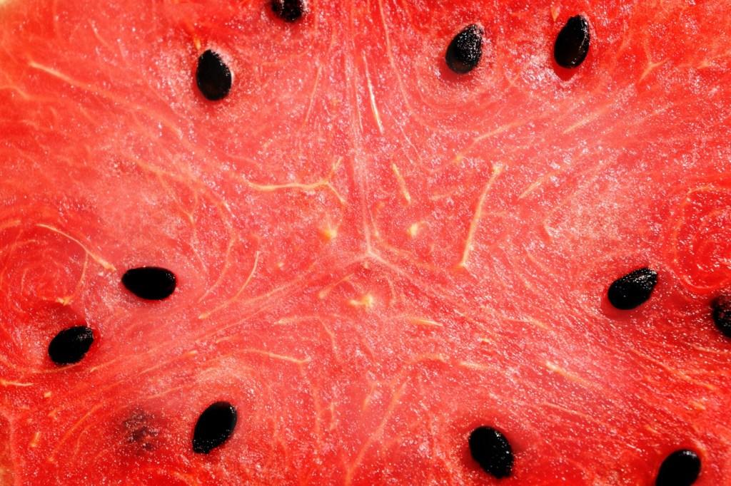 watermelon close up