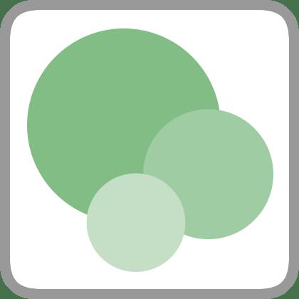 green palette