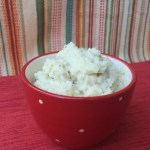 Garlic Mashed Cauliflower with #SilkSoy