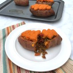 Shepherd's Pie Stuffed Sweet Potatoes (Vegan, Gluten-Free)