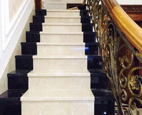 Mẫu đá hoa cương ốp lát cầu thang đẹp