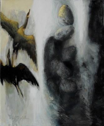 Migratory Birds - Oil on Canvas 24 x 30