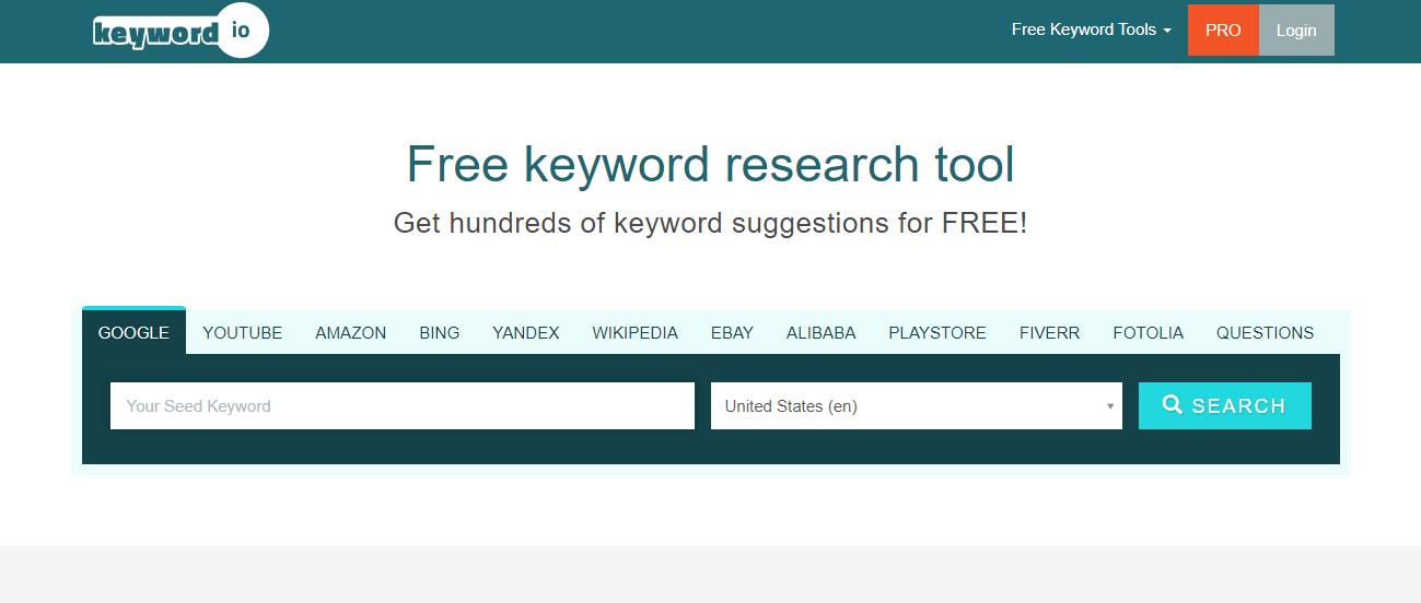 cara riset kata kunci