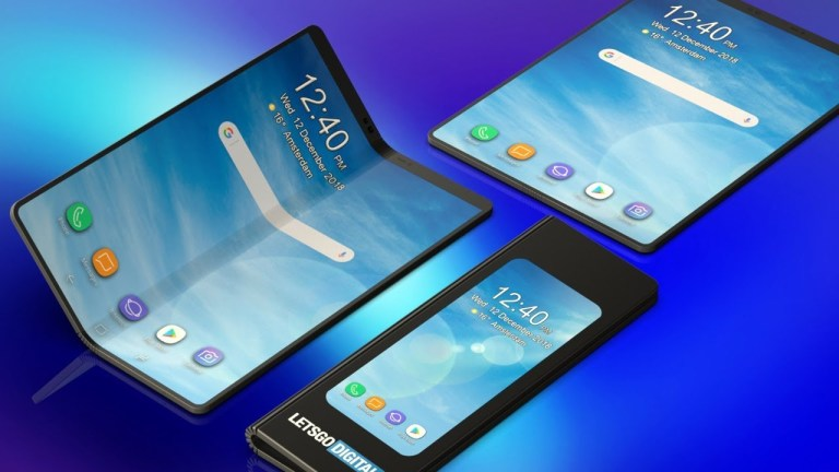 Welcome Future with Galaxy Fold
