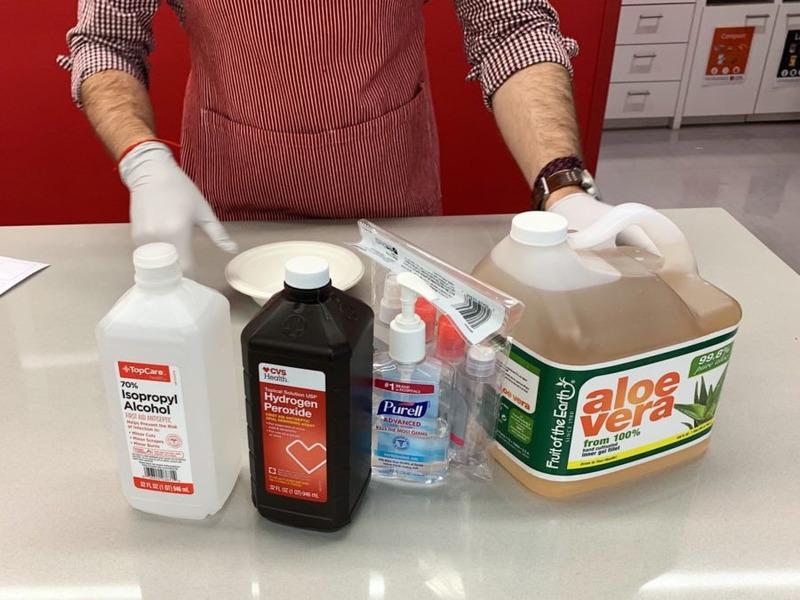 How to Make Sanitizer