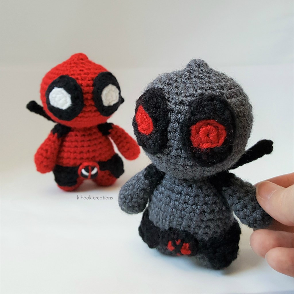 Ravelry: Marvel's Deadpool Doll pattern by Chelsea Thomas | 1024x1024