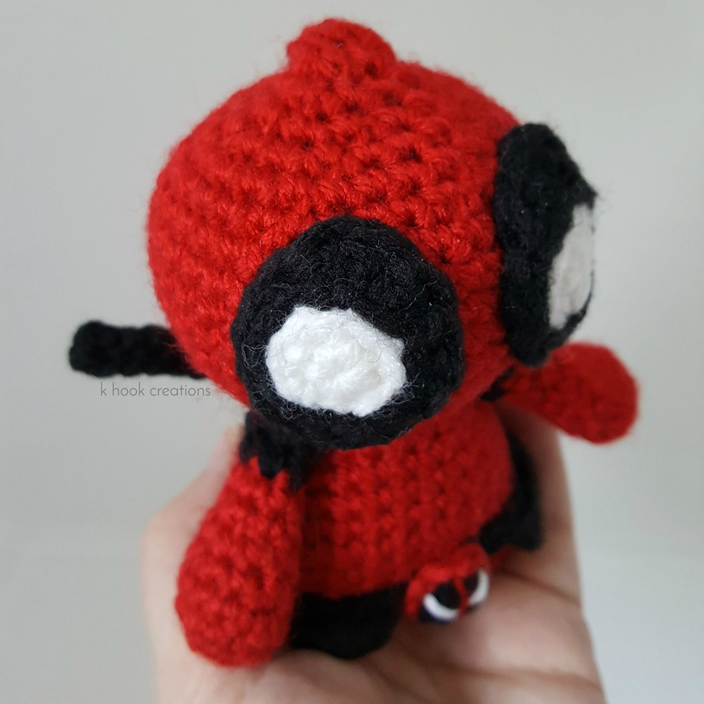 Ravelry: Chibi Deadpool pattern by K Hook Creations | 1024x1024