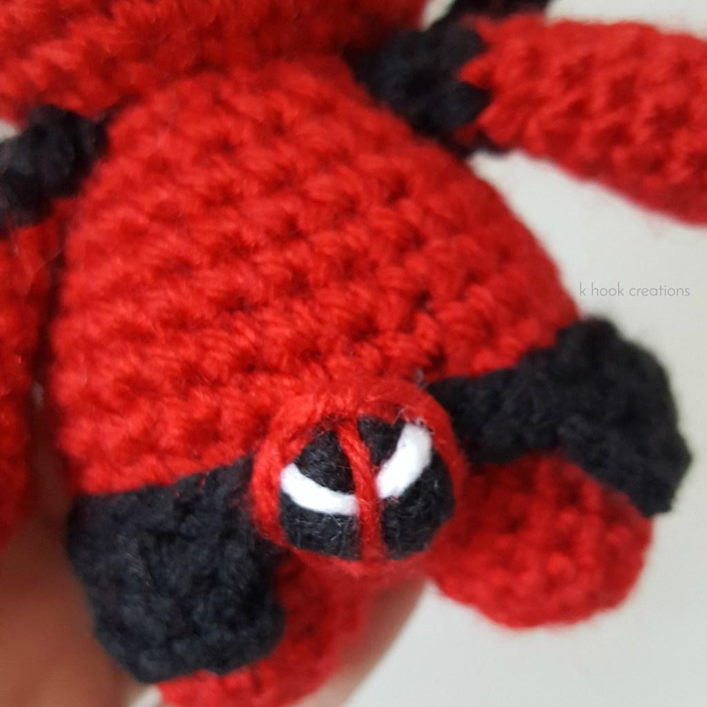 Deadpool Crochet pattern PDF Amigurumi superheroes Comics inspired plushie  toys Crochet dolls Birthday superhero geeky gift Boys room decor   Patrón  muñeca ganchillo, Patrones amigurumi, Tutorial de tejido a ganchillo   1024x1024