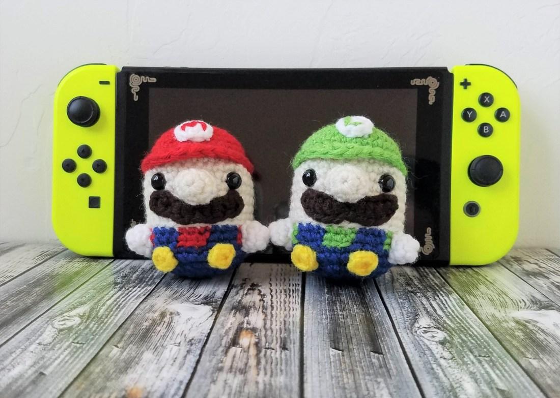 Pattern Mario Luigi Beans K Hook Creations