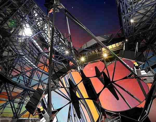Dev Magellan Teleskopu 5
