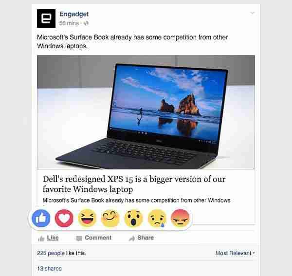 facebook_reactions - beğen