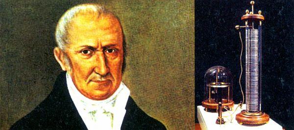Alessandro Volta, pili icat eden adam.