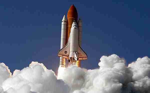 Uzay mekiği emekli oldu.