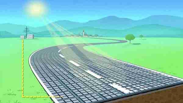Artık-otoyollara-güneş-paneli-döşüyoruz