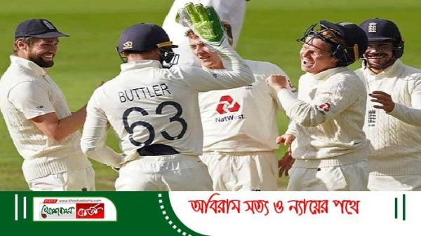 England win 2nd test - Khosbasbarta.com