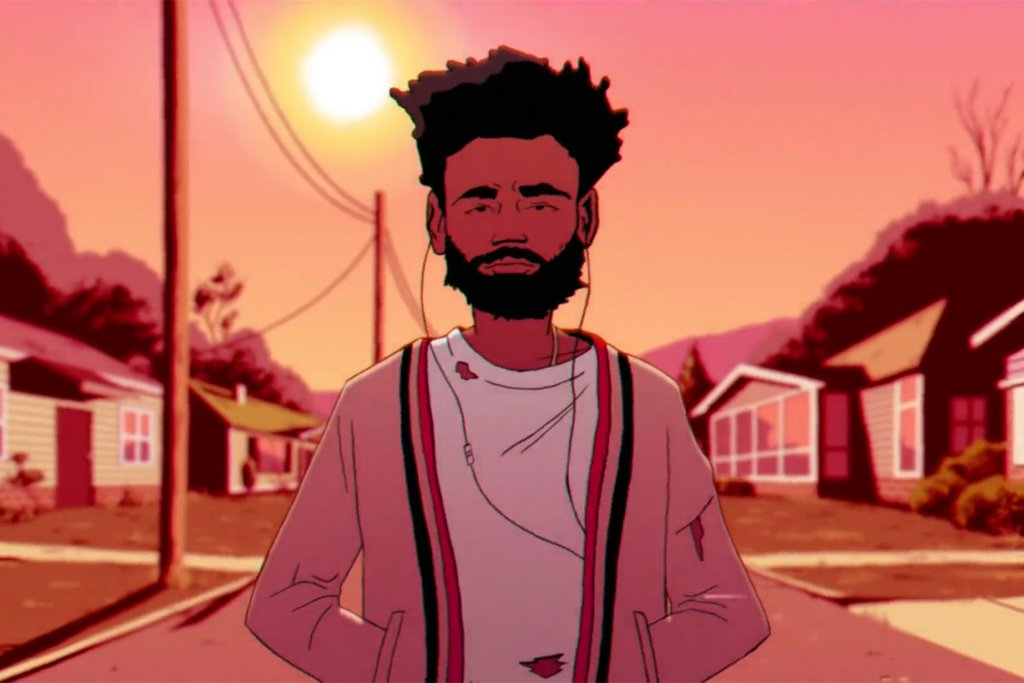 """WATCH: Childish Gambino Drops A Star-studded Illustrated Video For """"Feels Like Summer"""""""