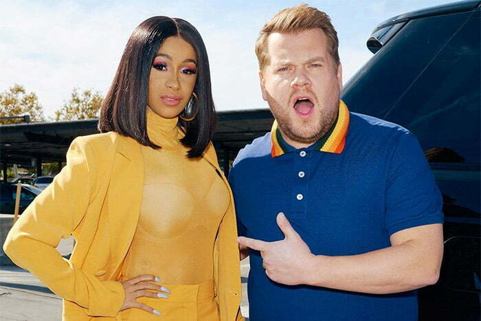 WATCH: Cardi B Drives For The First Time On James Corden's Carpool Karaoke