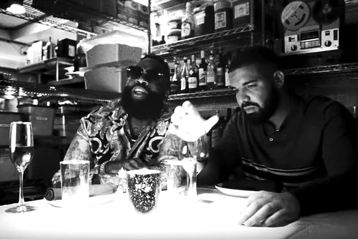 WATCH DRAKE AND RICK ROSS IN 'MONEY IN THE GRAVE' VIDEO