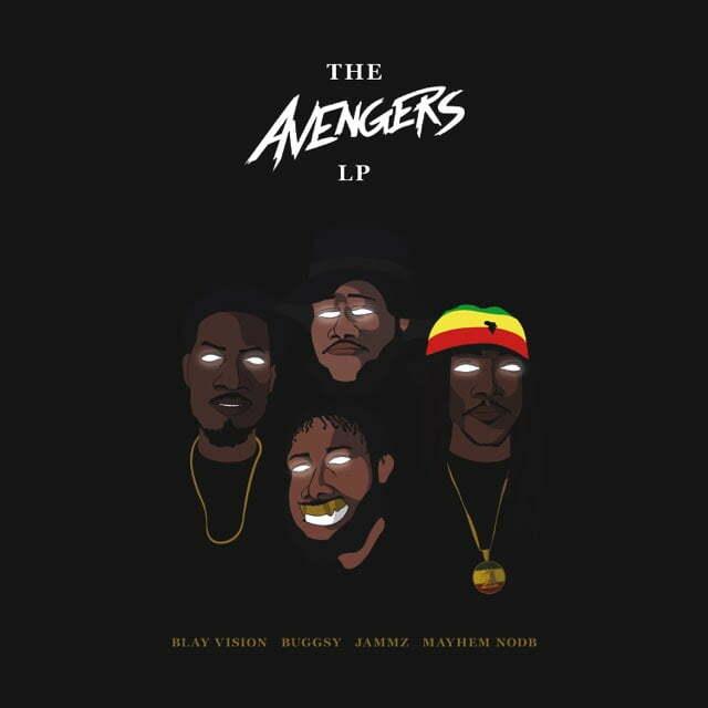 GRIME EMCEE'S BLAY VISION, BUGGSY, JAMMZ & MAYHEM NOBD AKA THE AVENGERS ASSEMBLE FOR 'THE AVENGERS LP'