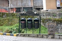 All councils should have this! three recycling bins on all streets