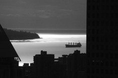 From the lookout onto English bay