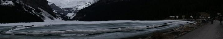 Panorama of Lake Louise