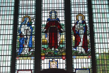 Part of the church window