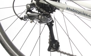 2020 KHS Urban Xcel ladies rear derailleur