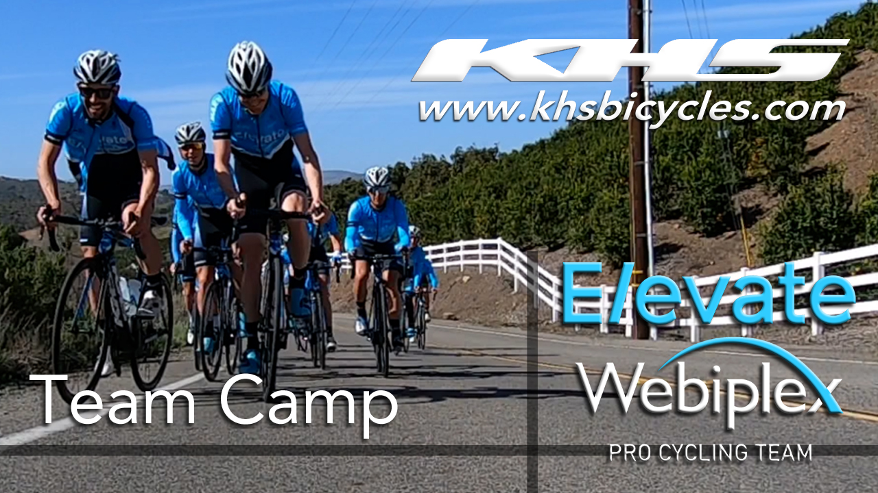KHS Elevate Webiplex Pro Cycling Team Training Camp