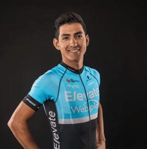 KHS Elevate Webiplex rider Alfredo Rodriguez.