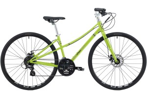 2021 KHS Bicycles Urban Xcape Disc Ladies in Pow Green