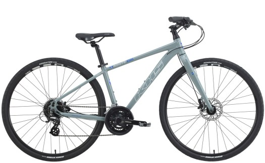 2021 KHS Bicycles X-Route 200 in Mid Gray