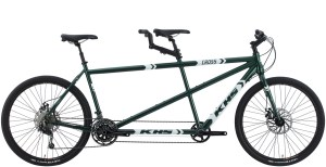 2021 KHS Bicycles Cross Tandem in Green