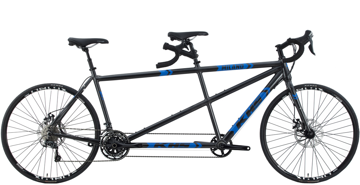 2021 KHS Bicycles Milano Tandem in Dark Gray