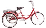 2021 Manhattan Cruisers Trike in Red