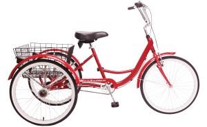 2021 Manhattan Cruisers Trike in Red