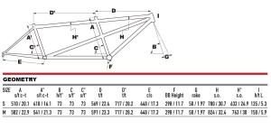 2021 KHS Bicycles Tandem Cross geometry