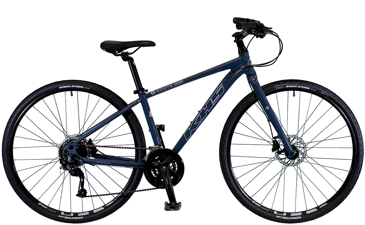 2021 KHS Bicycles X-Route 300 in Dark Gray