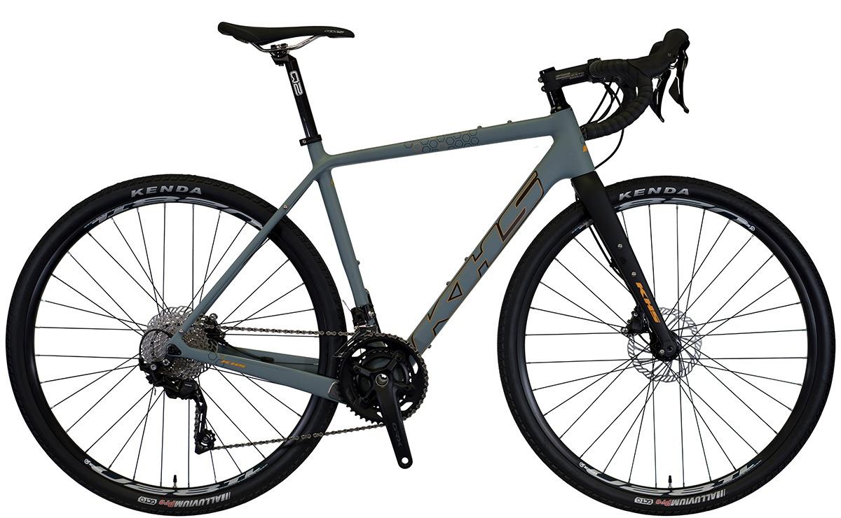 2022 KHS Bicycles Grit 330 in Matte Audi Gray