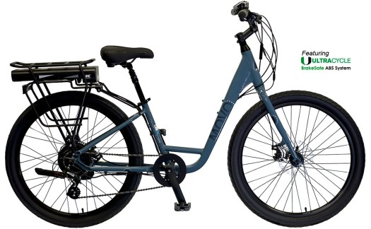 2022 KHS Bicycles Movo 1.0E Ladies in County Blue