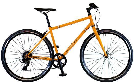 2022 KHS Bicycles Urban Soul 8 in Bright Orange