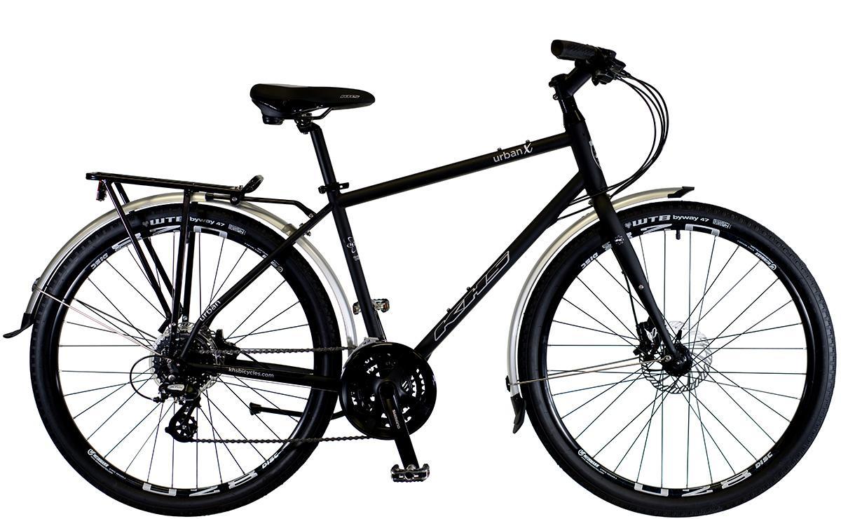 2022 KHS Bicycles Urban X in Matte Black
