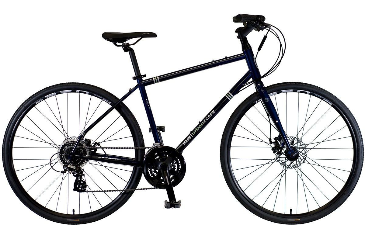 2022 KHS Bicycles Urban Xcape Disc in MIdnight Blue