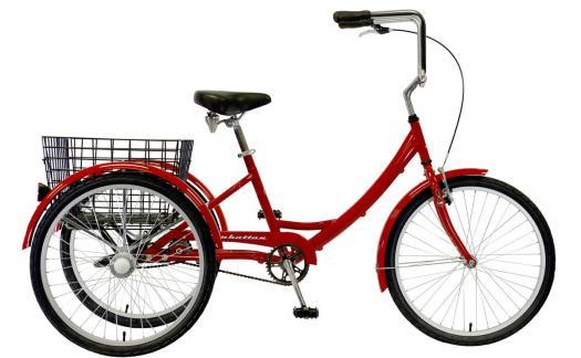 2022 Manhattan Cruisers Trike in Red