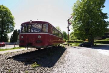 Schienenbus VT95 Sambatrasse Wuppertal | © 2018 by Karl – Heinz Schultze (KHSFotographie)