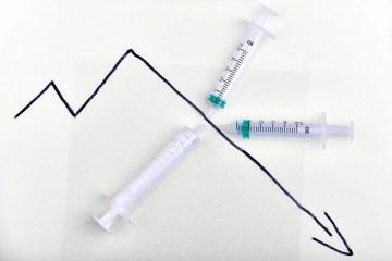 Corona-Regeln - Coronawelle - Impfstoff gegen Umsatzzoff