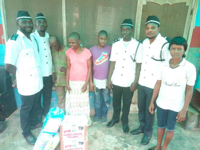 Welfare: Ojodu Dil'a visits ADOCA Home